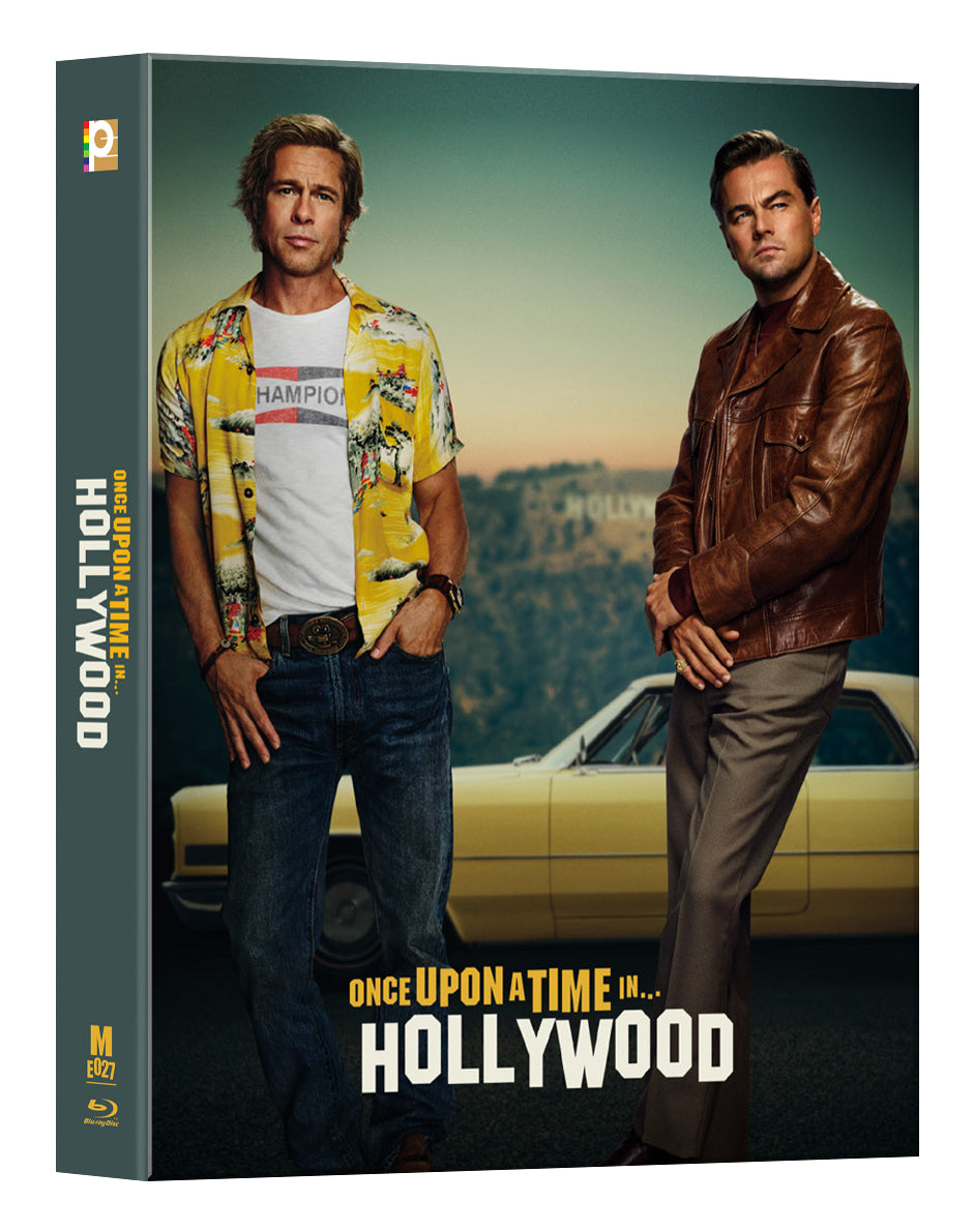 [ME#27] Once Upon A Time In Hollywood Steelbook (Double Lenticular Full Slip)