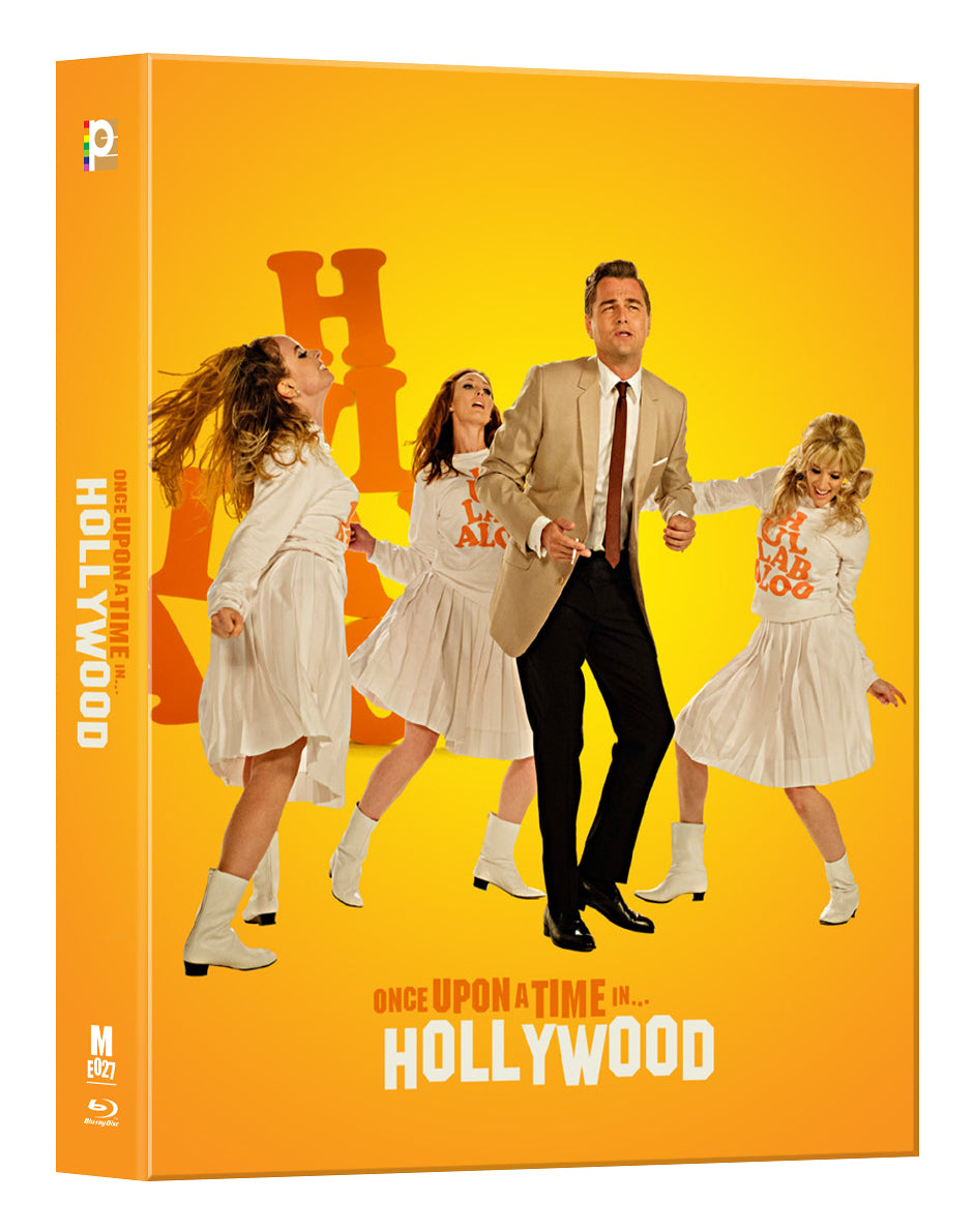 [ME#27] Once Upon A Time In Hollywood Steelbook (Lenticular Full Slip)