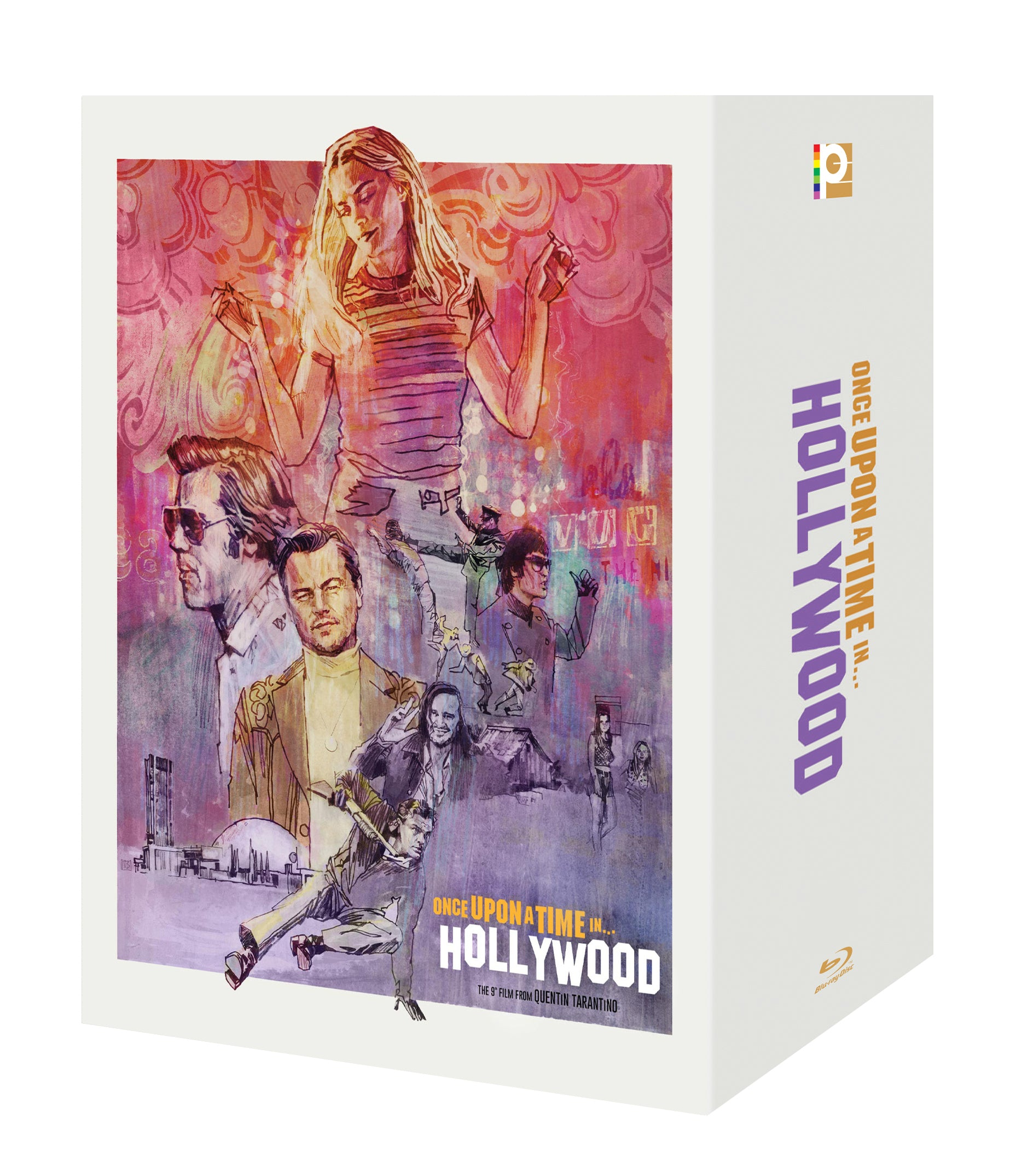 [ME#27] Once Upon A Time In Hollywood Steelbook (One Click)