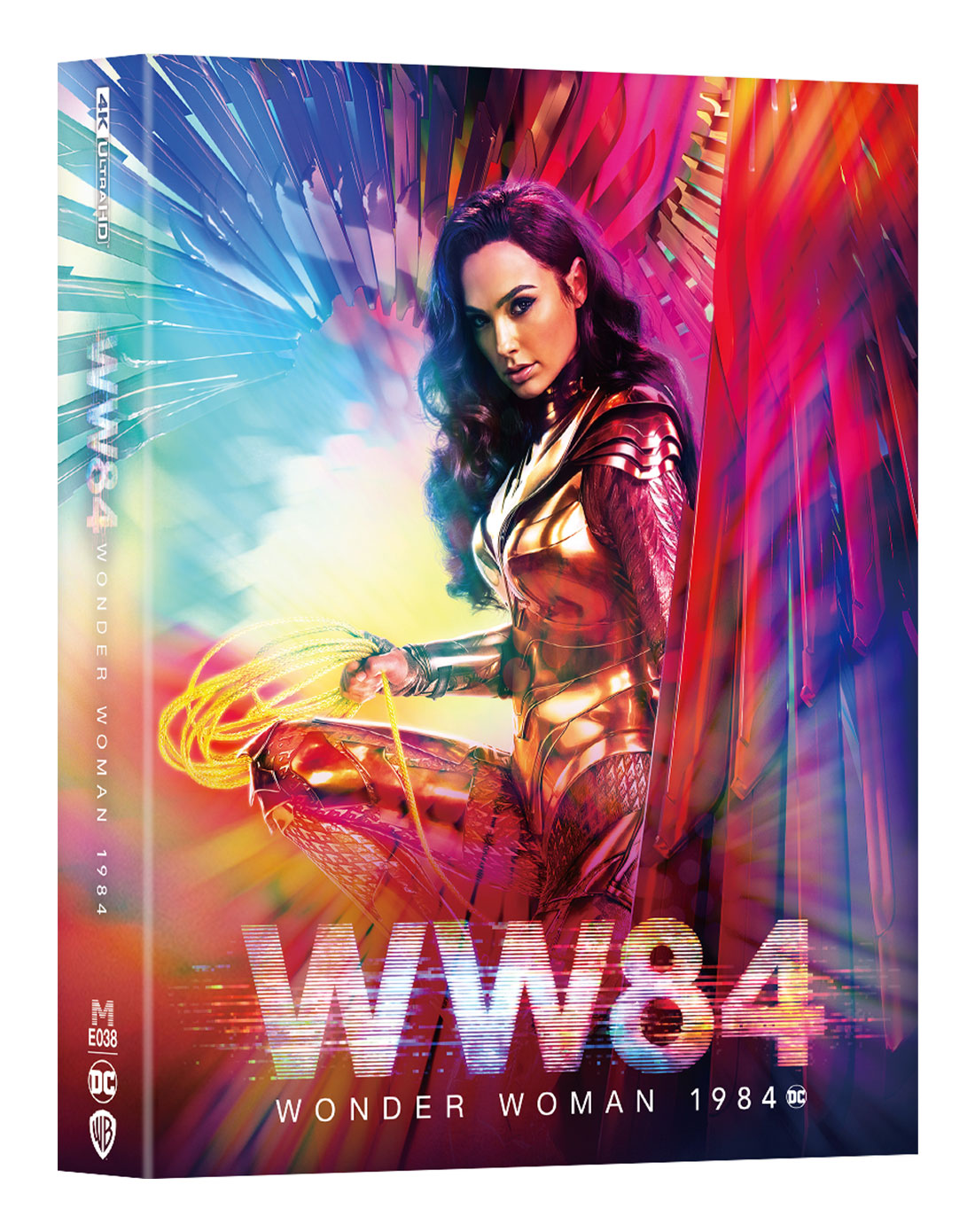 [ME#38] Wonder Woman 1984 Steelbook (Lenticular Full Slip)