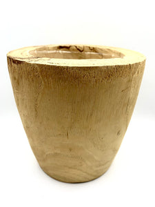 Home Styling Wooden Pot