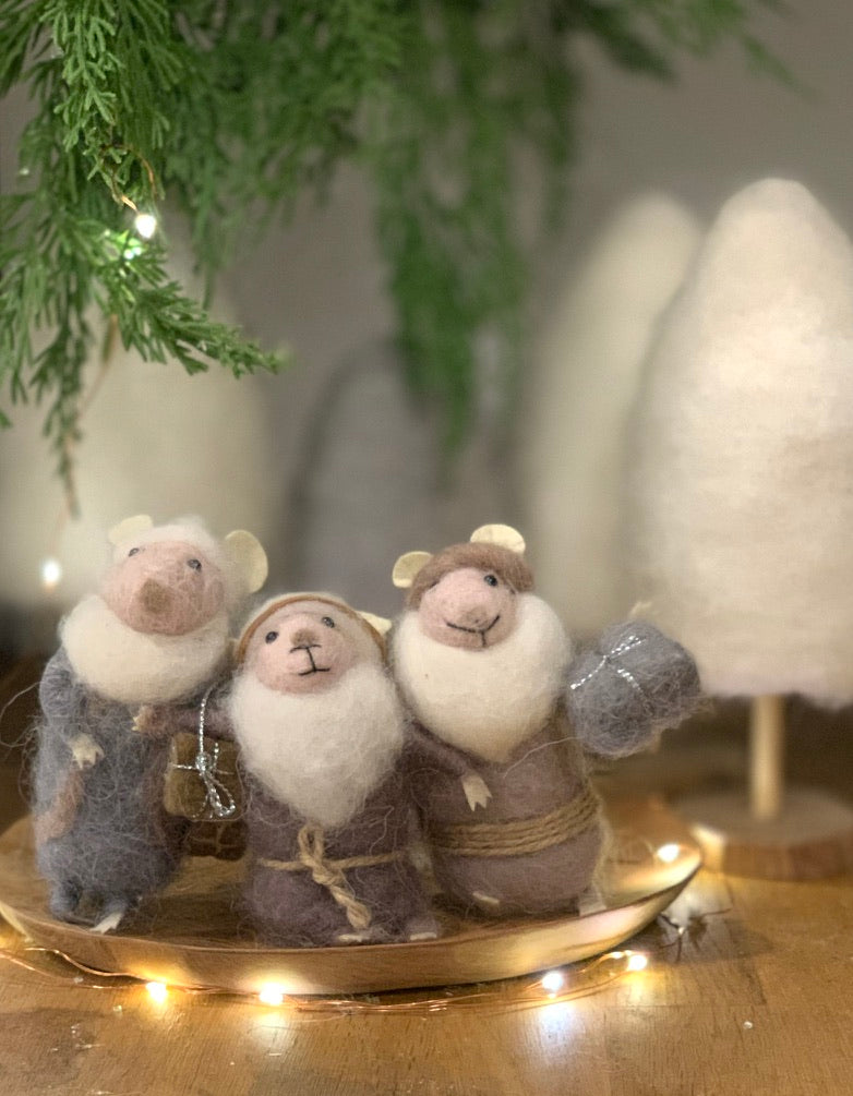 The  3 Wise Christmas Mice