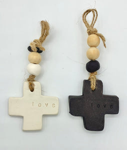 Australian Made Ceramic Crosses