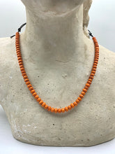 Load image into Gallery viewer, Red and Orange Necklaces