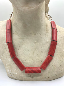Red and Orange Necklaces