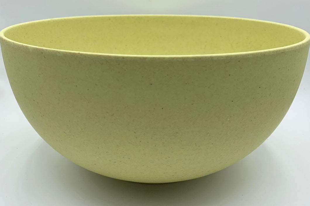 Bamboo Solid Colour Salad Bowl