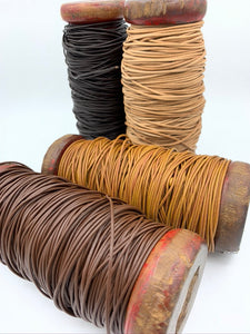 1.5mm Rolled Leather Cord