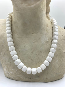 White Necklaces