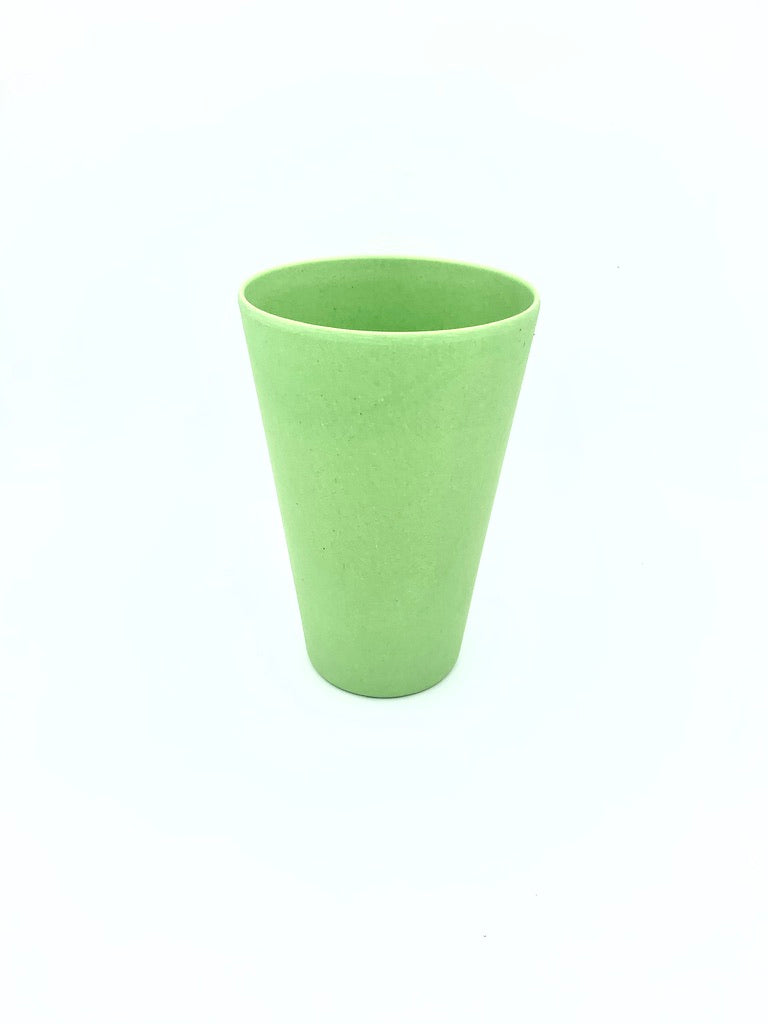 400ml Plain Colour Bamboo Tumbler