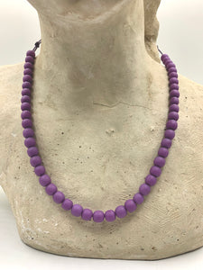 Pink and Purple Necklaces