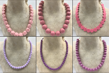 Load image into Gallery viewer, Pink and Purple Necklaces