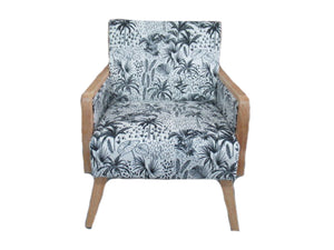 Palm Velvet Chair