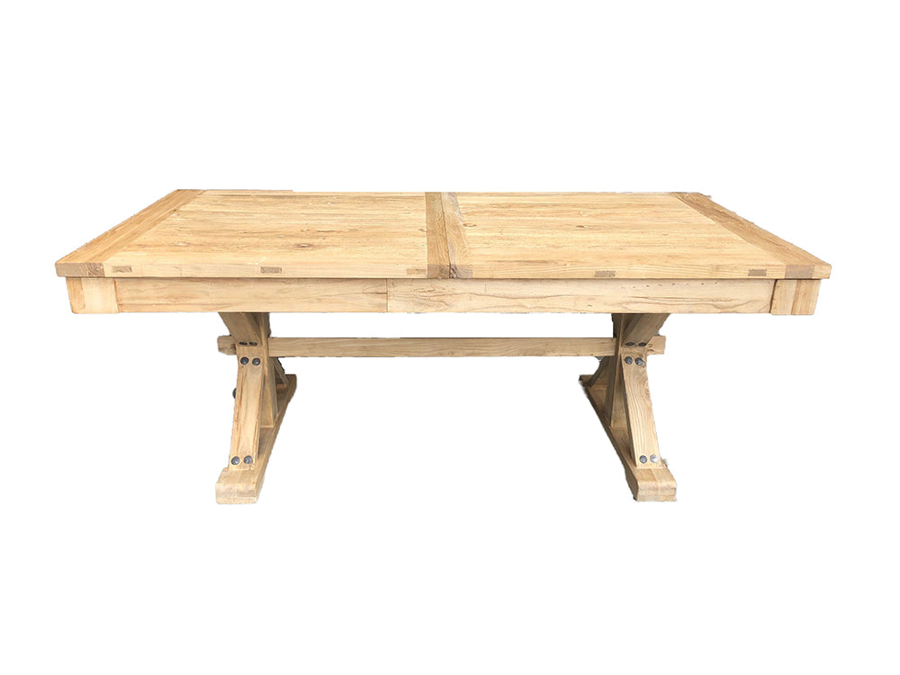 Extendable Elm Dining Table