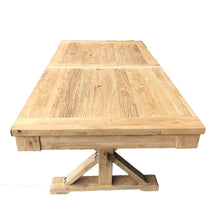 Load image into Gallery viewer, Extendable Elm Dining Table