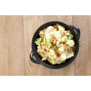 Baby Potato Salad with Bacon & Gherkins *From