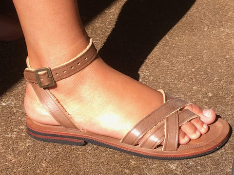 Caboclo Sandal 13 Brown Women's Flipflops,Shoes & Boots Caboclo 37