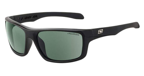 DD Axle Black/Green Polarised Sunglasses Dirty Dogs