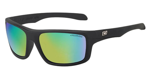 DD Axle-Satin Black-Green|Green Fusion Mirror Polarised