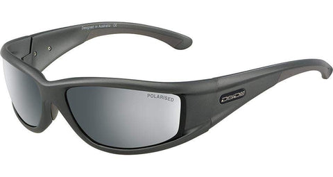 DD Banger-Satin Grey-Green Polarised Sunglasses Dirty Dogs