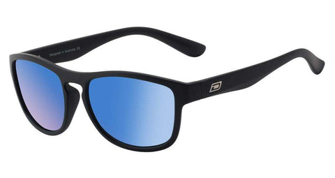 DD Venturer-Matt Black|Ice Blue Mirror Polarised Sunglasses Dirty Dogs