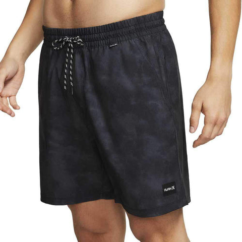 "Hurley Paradise Volley 17"" (2 Colours) Men's Shorts & Boardshorts Hurley Black S"