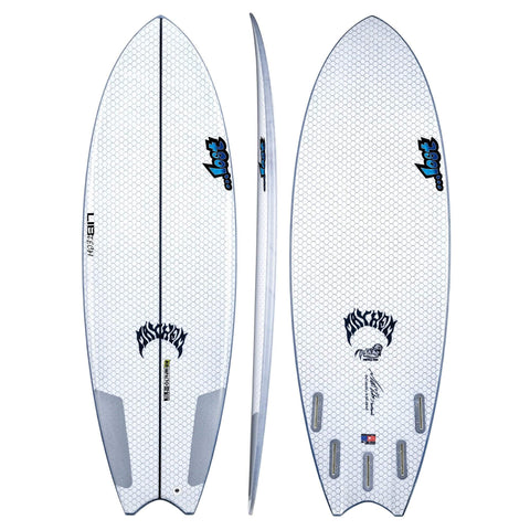 "LIB TECH LOST PUDDLE FISH 5'8"" Surfboard Lib Tech"