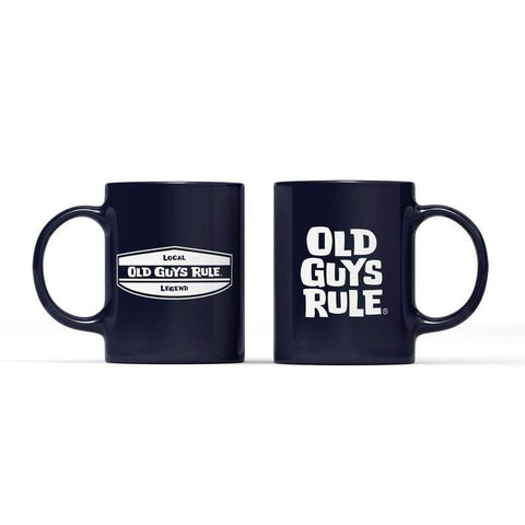 'LOCAL LEGEND - STACKED LOGO' MUG Accessories Old guys rule