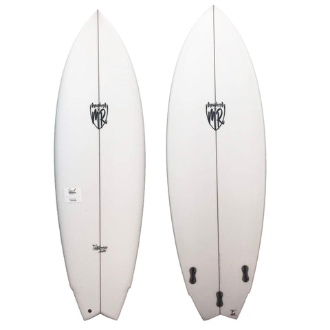 "Lost Mark Richards California Twin 5'8""- Futures 3 Fin Surfboard Lost"