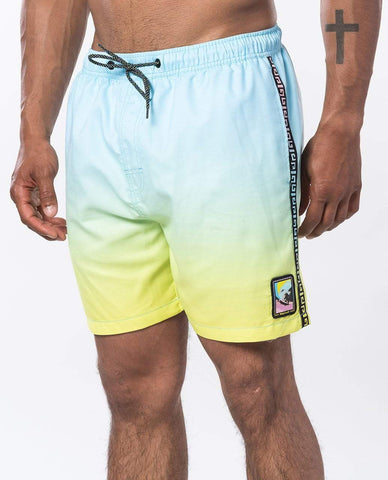 "Native Surf 16"" Volley Short (2 Colours) Men's Shorts & Boardshorts Rip Curl Small Blue"