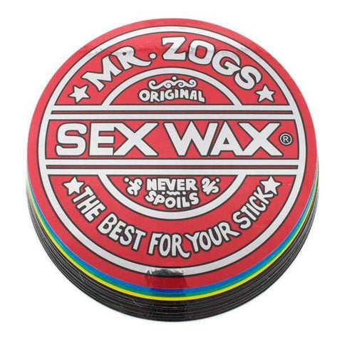 Sex Wax Stickers Stickers Sex wax Large 9.5""