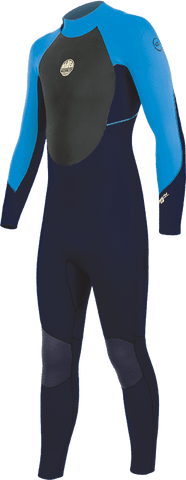 STEALTH JUNIOR 3/2MM 2020 FULL WETSUIT Children's Wetsuits Alder 4