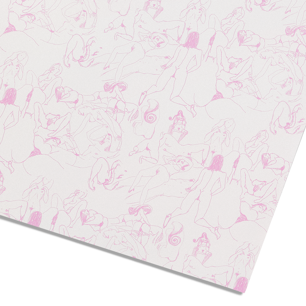 Load image into Gallery viewer, Hyatt Girls Wrapping Paper