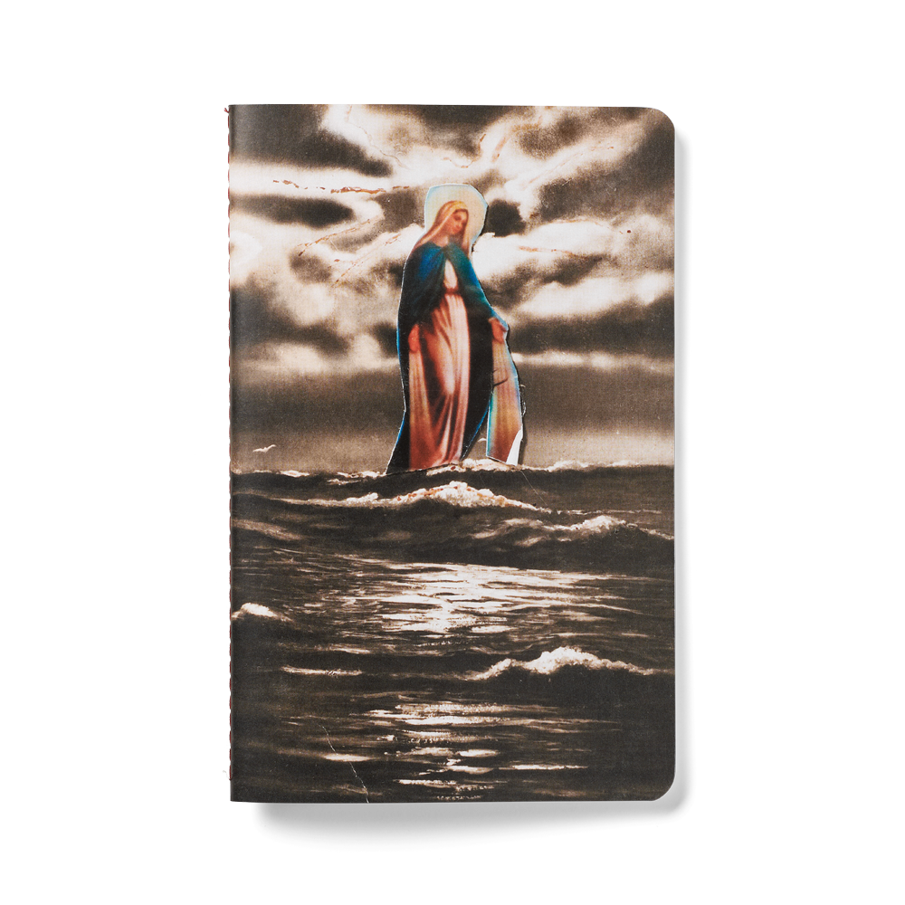 Load image into Gallery viewer, Madonna at Sea A5 Notebook