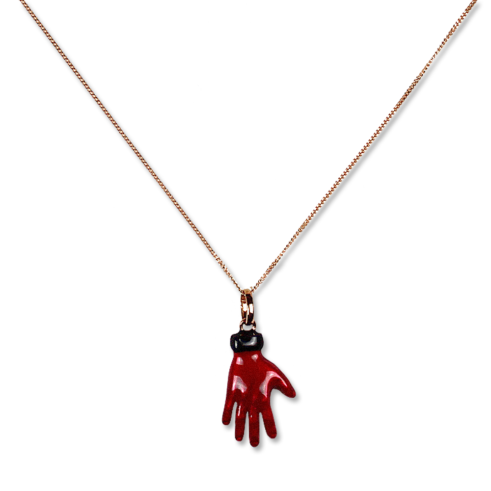 Load image into Gallery viewer, The Red Hand Charm