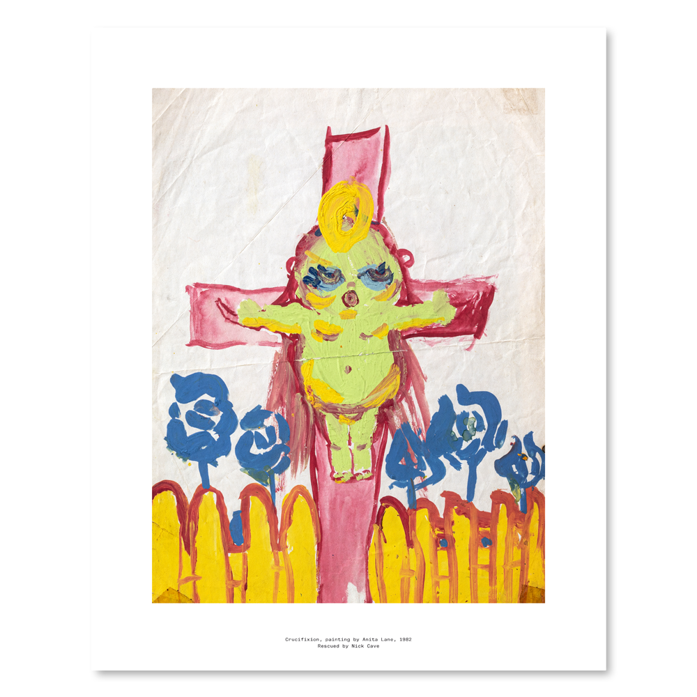 Load image into Gallery viewer, CRUCIFIXION ART PRINT