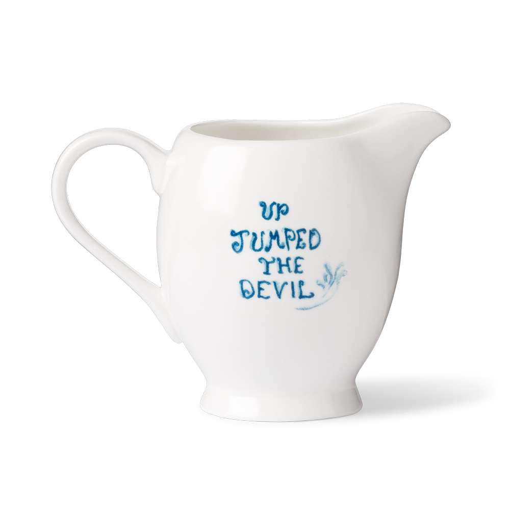 Load image into Gallery viewer, Up Jumped The Devil Milk Jug