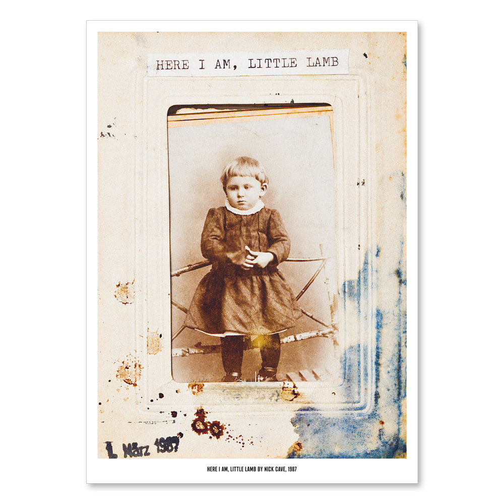 Load image into Gallery viewer, Here I Am, Little Lamb Poster