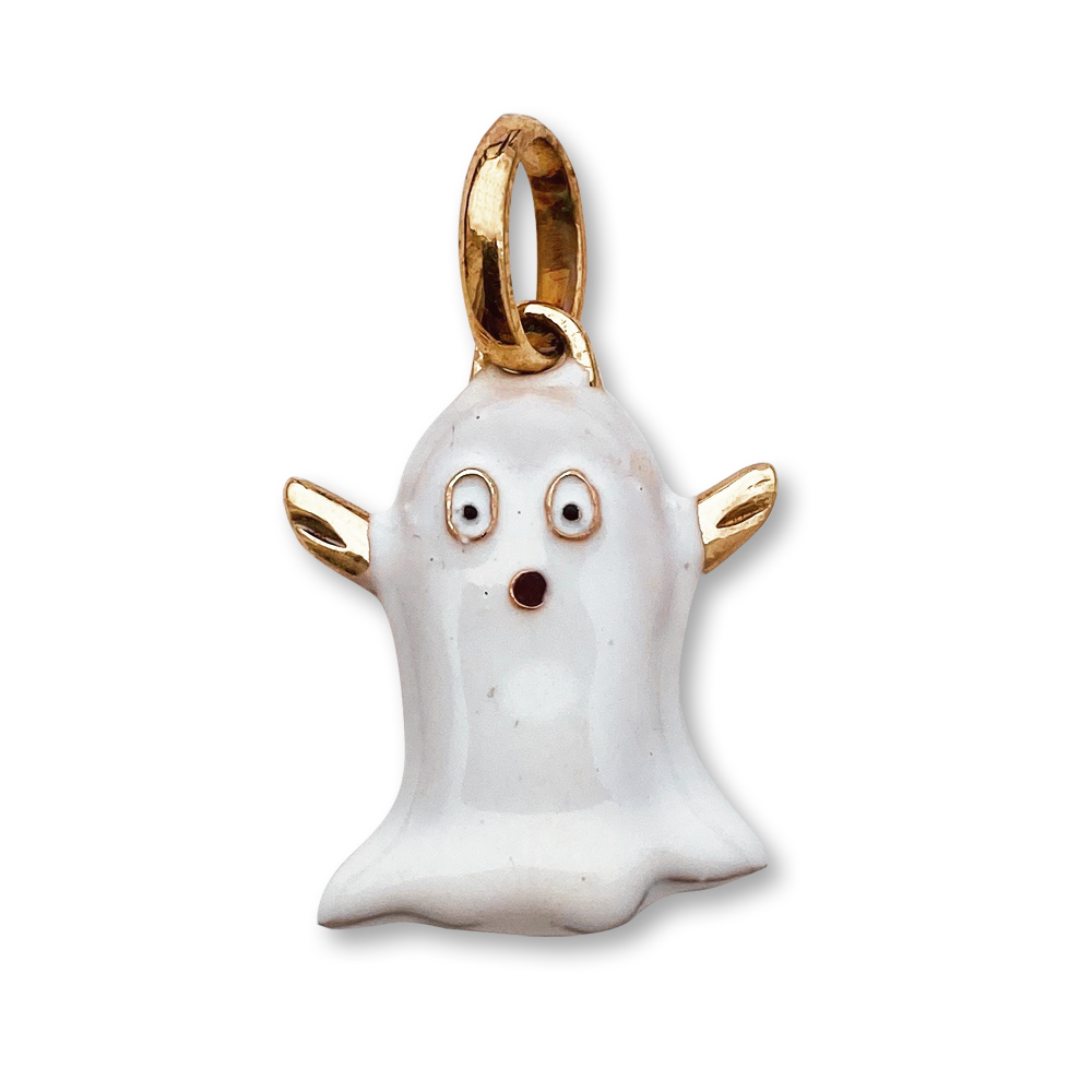 Load image into Gallery viewer, Little Ghost Charm