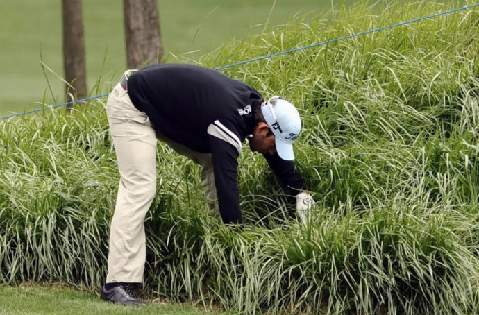 Golfers' Pet Peeves: #1 Searching for golf balls guy