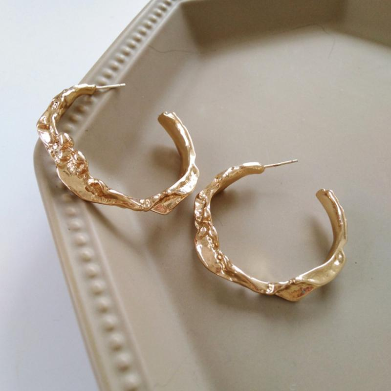 Museum Hoop Earrings