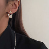 Butterfly Cutout Earrings
