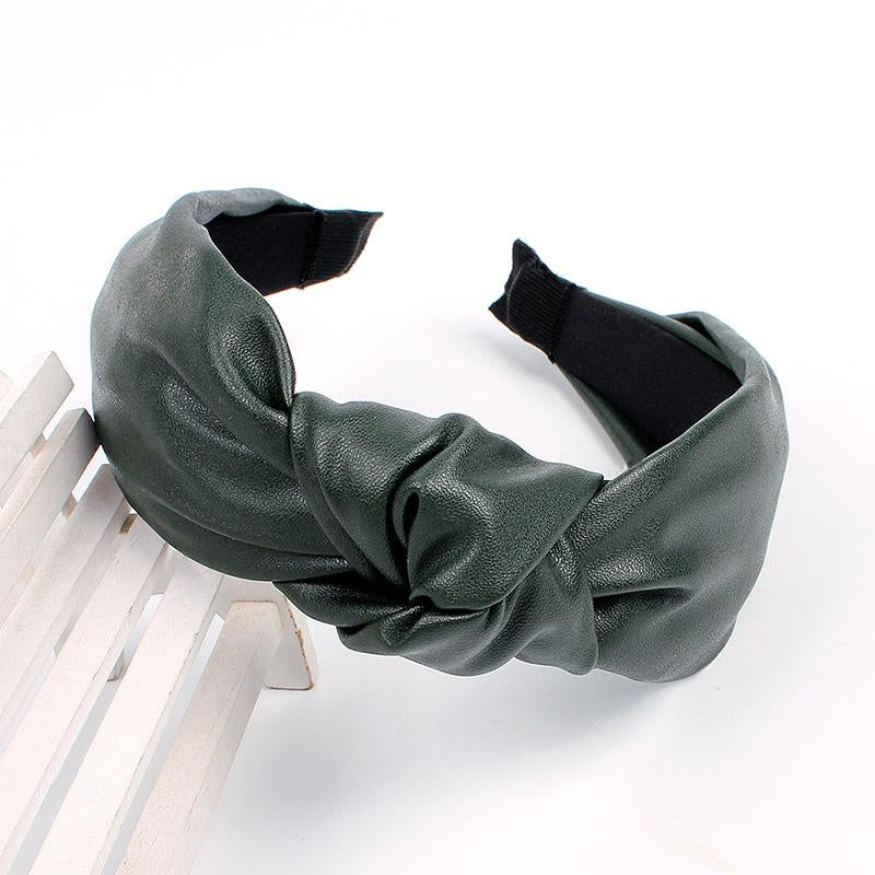 Pati Faux Leather Headband