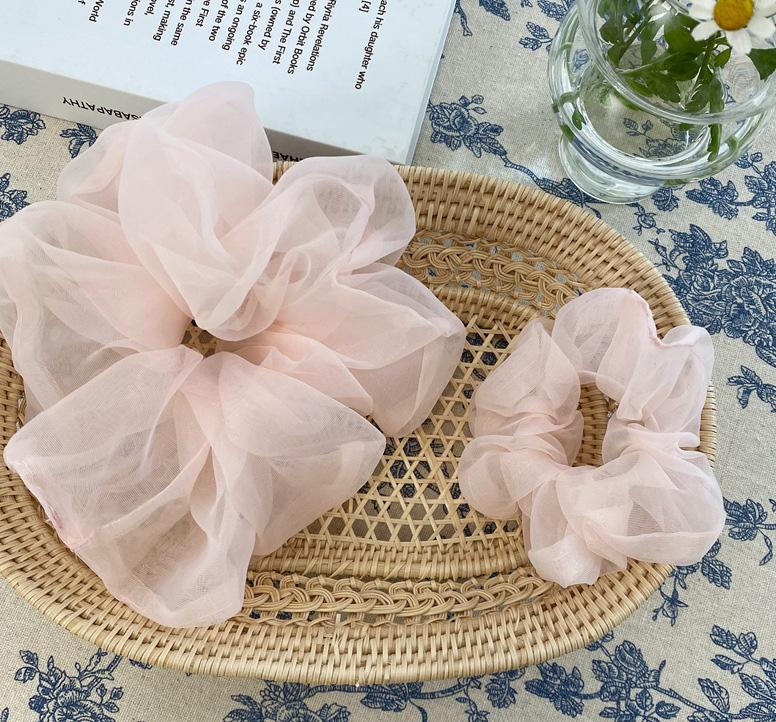 Mist Oversized Scrunchie