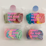 25 Days Of The Month Hair Tie Set