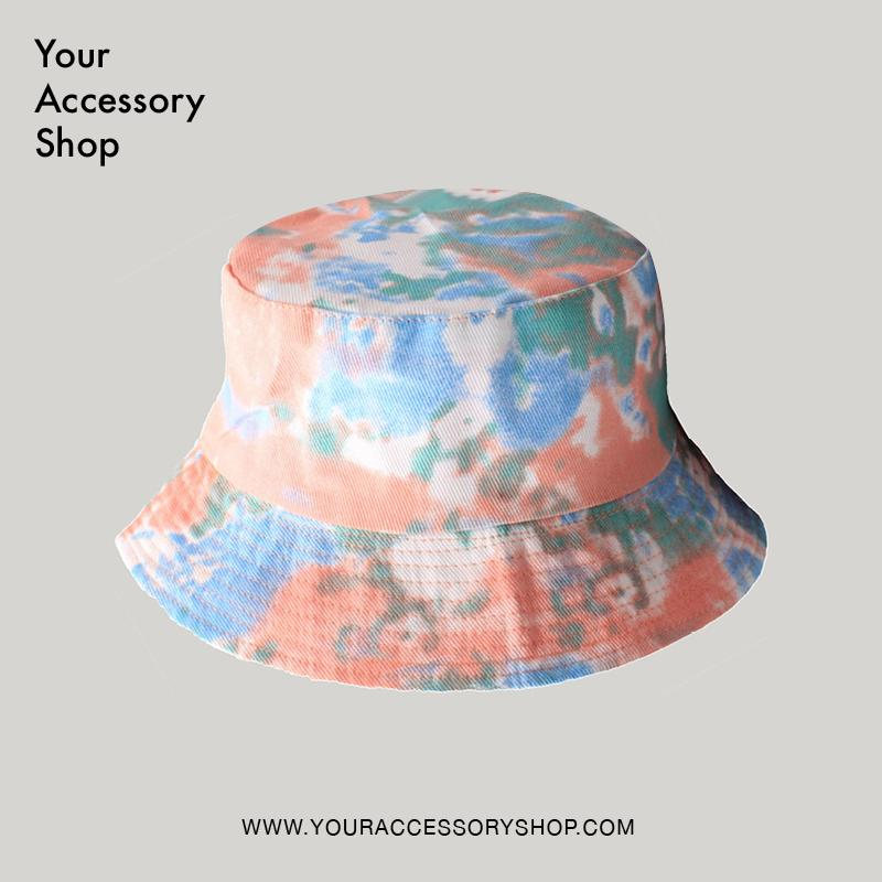 A Reversible Tie Dye Bucket Hat