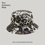 Leopard Reversible Bucket Hat