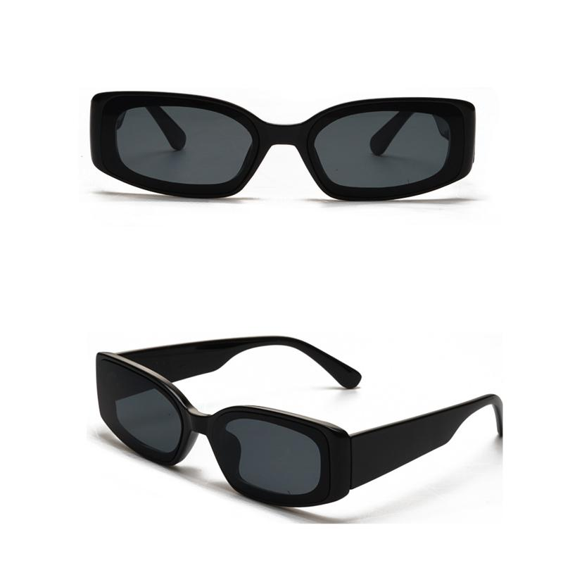 Abby Vintage Square Sunglasses