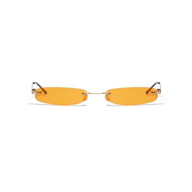 Frankie Rimless Sunglasses