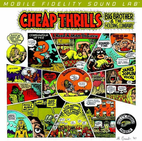 Big Brother & The Holding Company/Cheap Thrills (MFSL Audiophile/2LP/45rpm) [LP]