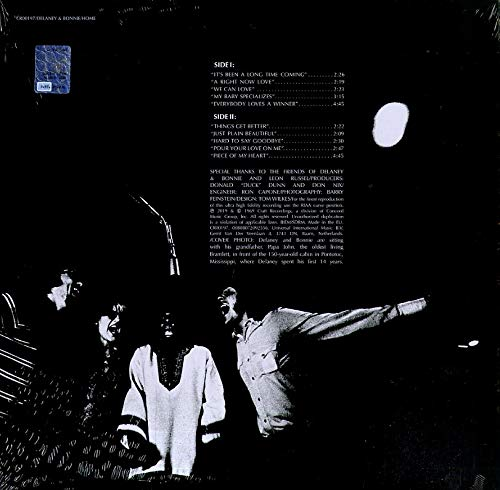 Delaney & Bonnie/Home [LP]